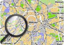 Сауны на карте